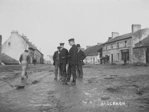 Police in Ahascragh c.1900