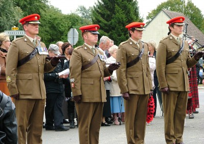 A detachment of the Light Dragoons in Iron