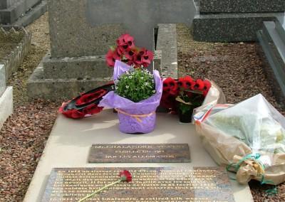 Grave of M. Chalandre