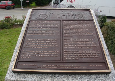 The Bronze Plaque With the Story