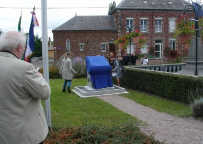 Monument in Iron Ready for Unveiling