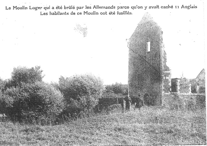 Photo 3.1 The Mill at Iron in the 1920s