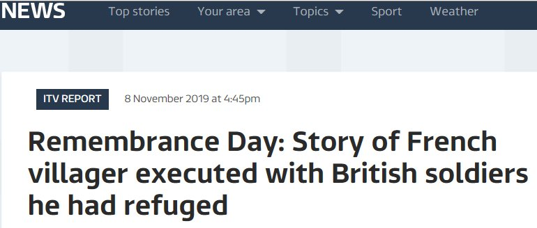 ITV News Item on Fred Innocent